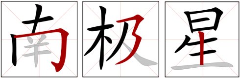 Chinese Character Stroke Order Software